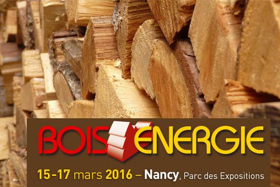 Salon 2016 Bois-energie pour les professionnels